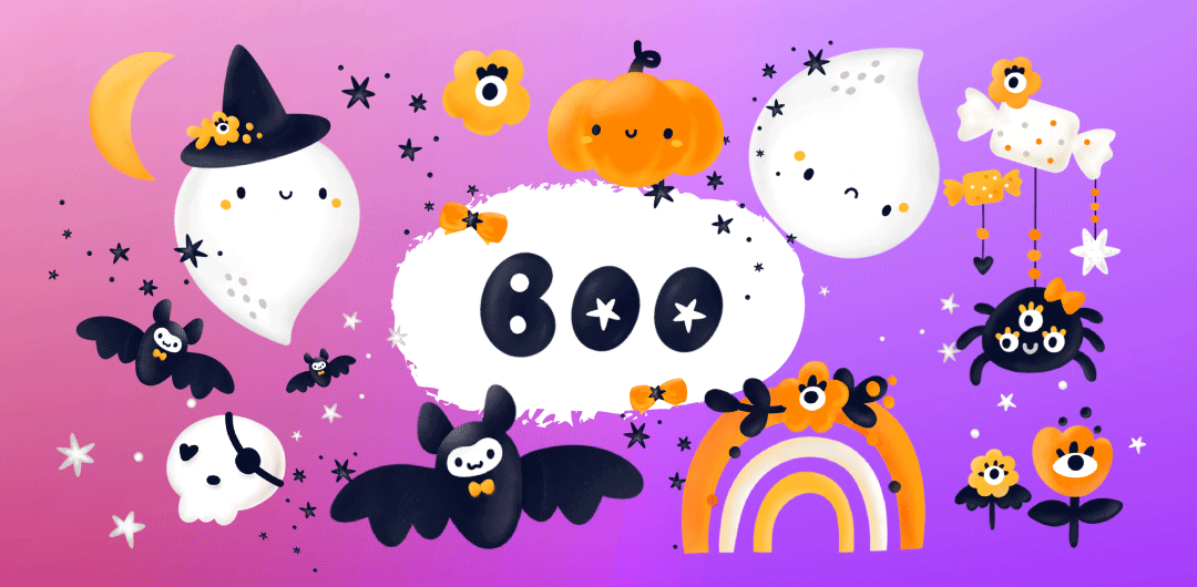 sticker: Boo! image