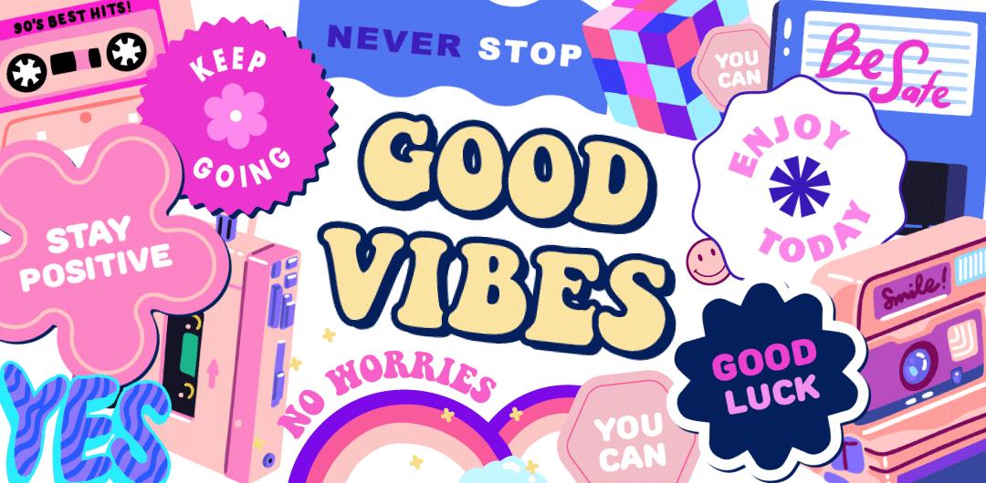 sticker: Good Vibes image