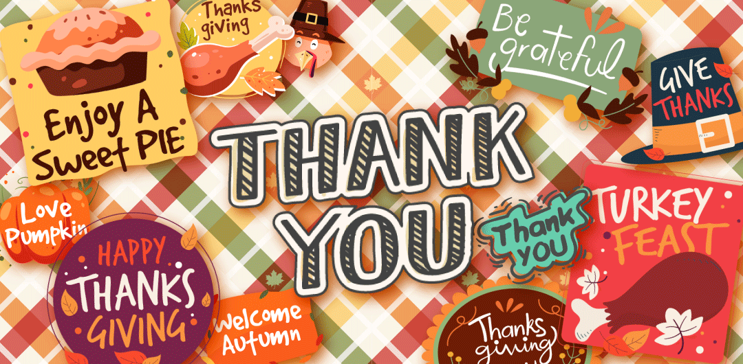 sticker: Happy Thanksgiving Sticker image