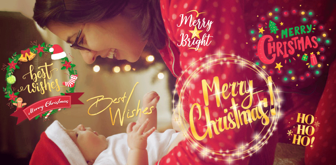 sticker: Christmas Greetings image