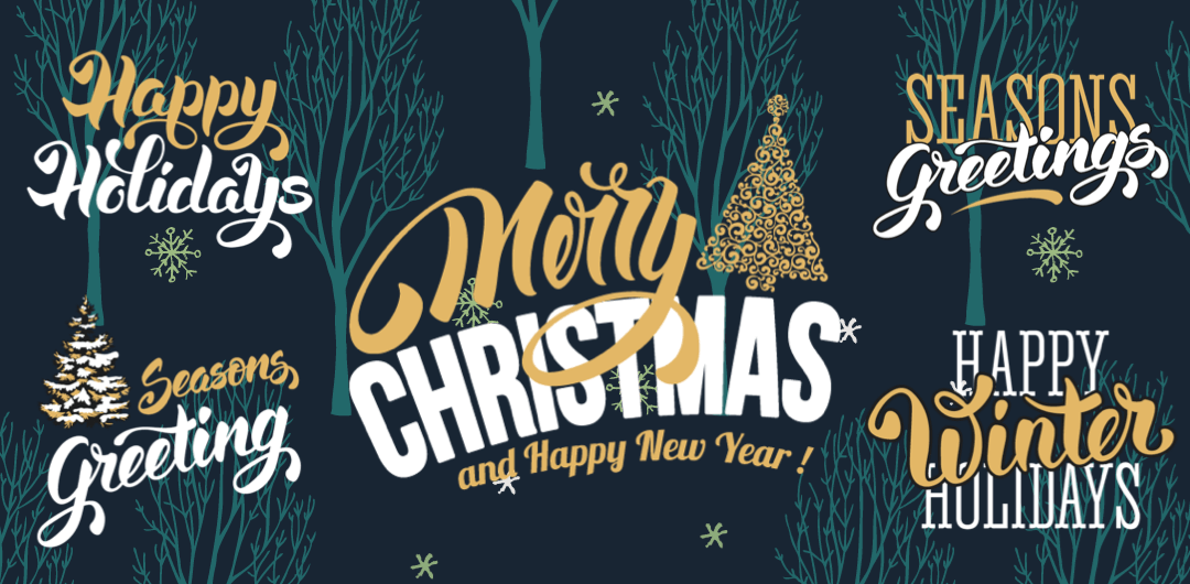 sticker: Christmas Lettering image