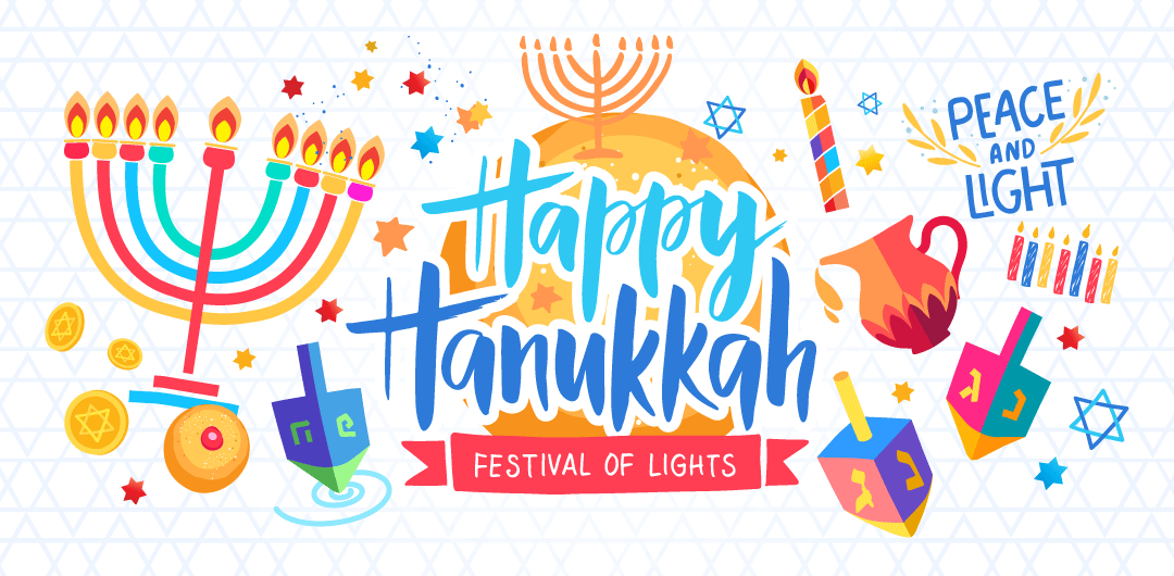 sticker: Hanukkah image