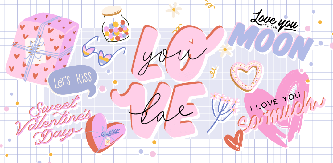 sticker: Love Words image