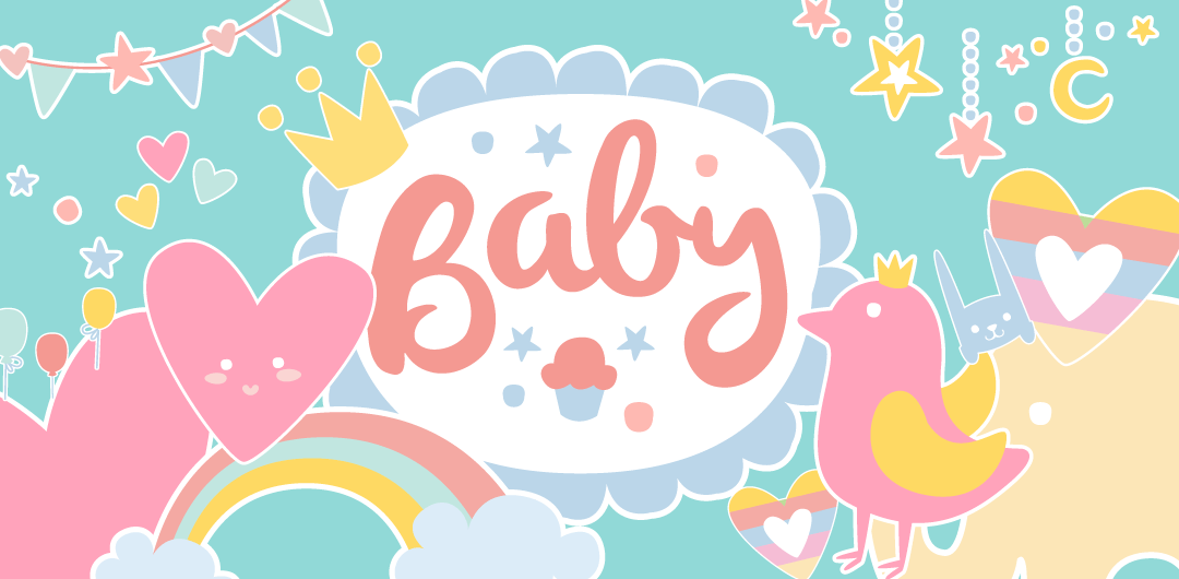 sticker: Cute Baby image