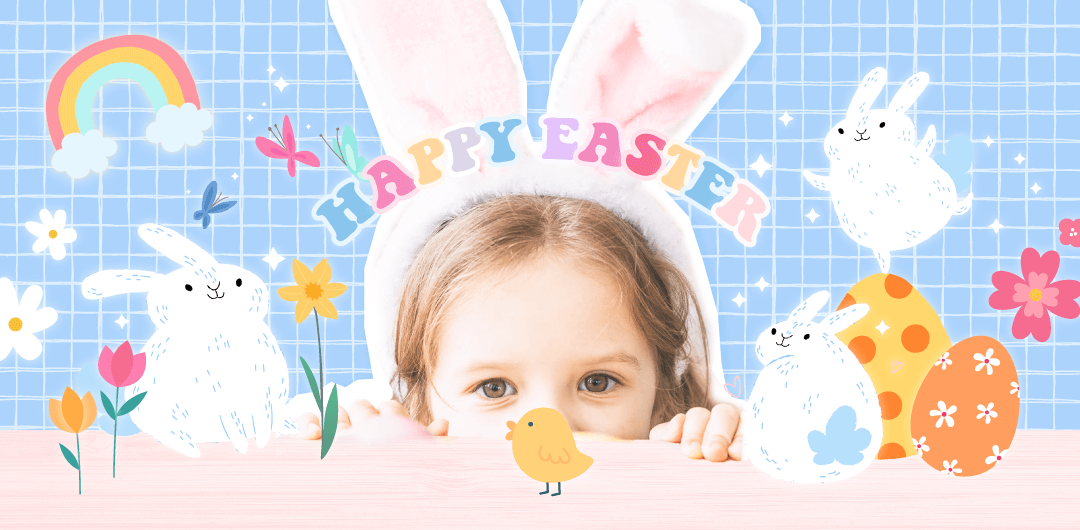 sticker: Easter Rabbit image