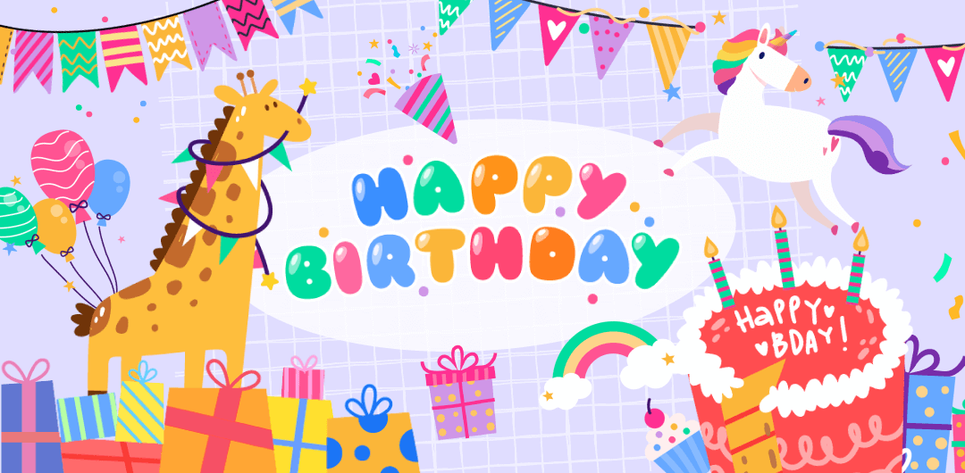 sticker: Joyful Birthday image