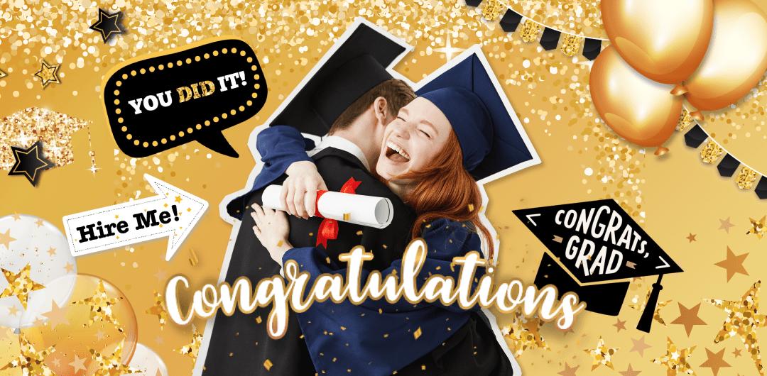 sticker: Congrats Grad! image