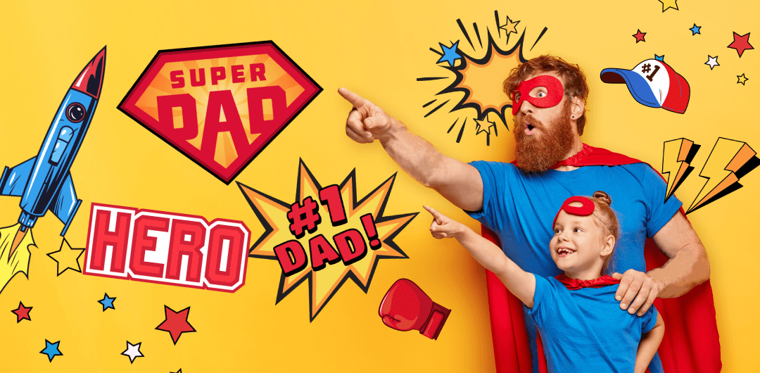 sticker: Super Daddy image