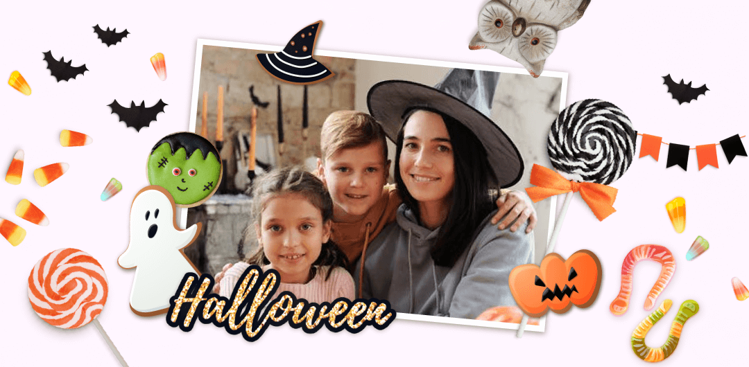 sticker: Sweet Halloween image