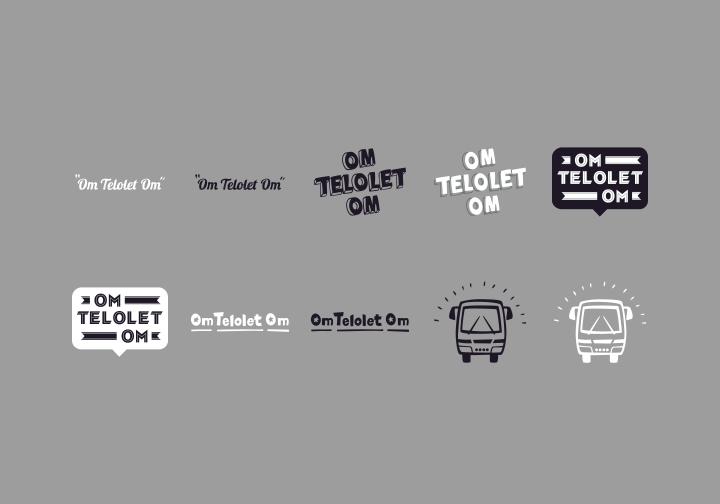 PhotoGrid Stickers Om Telolet Om