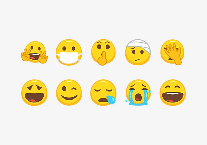 PhotoGrid Stickers Emoji Face II
