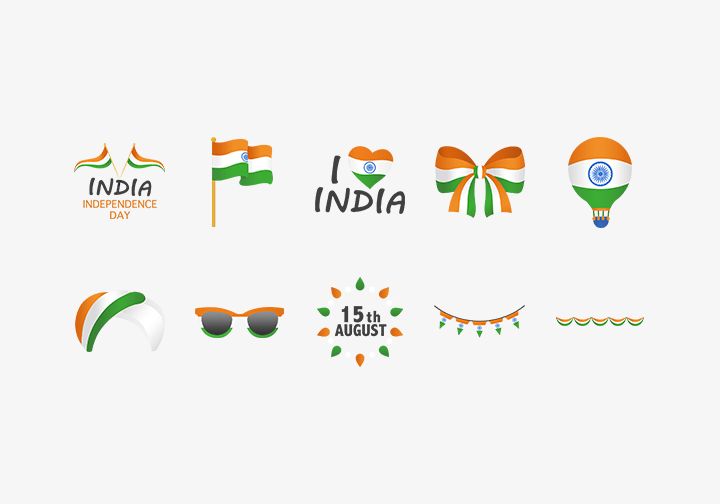 PhotoGrid Stickers Happy Independence Day