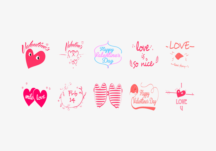 PhotoGrid Stickers Be Mine