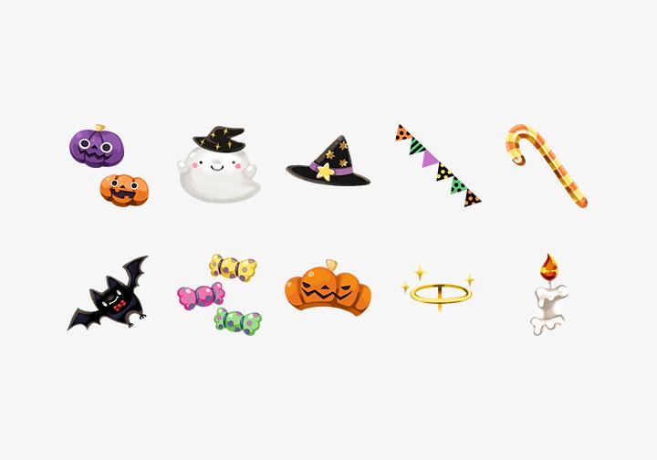 PhotoGrid Stickers Happy Halloween