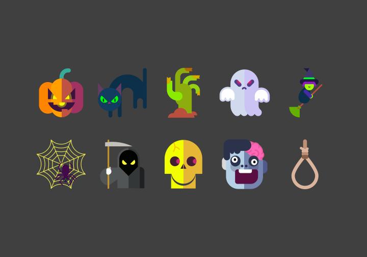 PhotoGrid Stickers Halloween