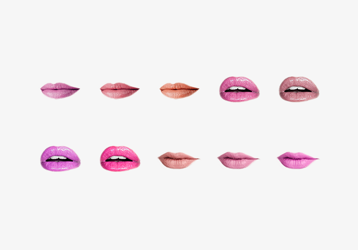 PhotoGrid Stickers Beauty Lips