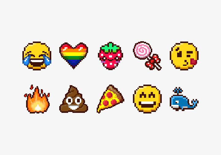 PhotoGrid Stickers Pixel Love