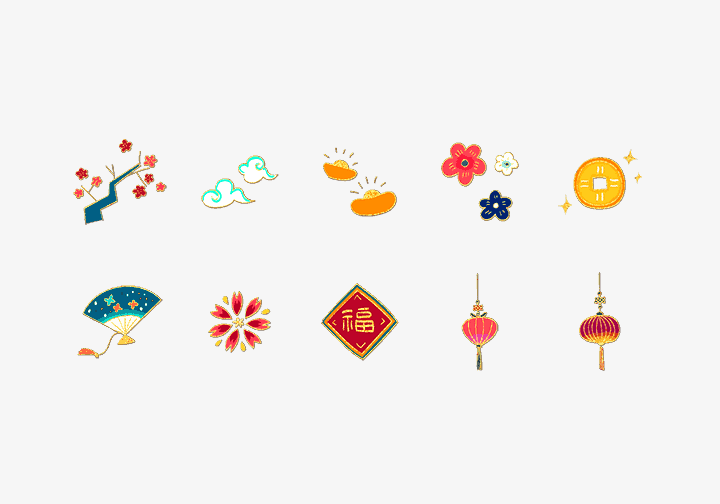 PhotoGrid Stickers Happy Chinese New Year