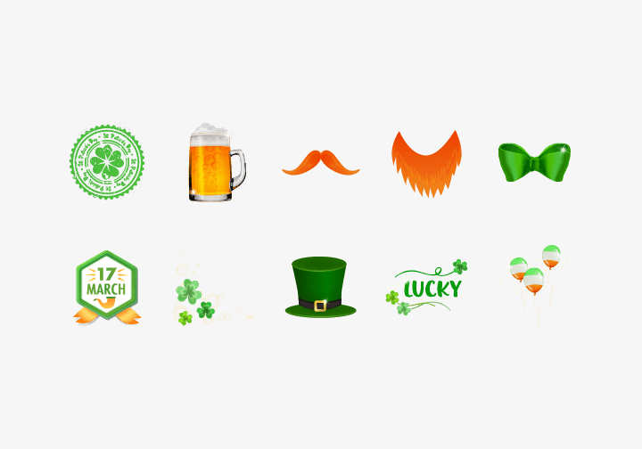 PhotoGrid Stickers Saint Patrick's Day Sticker
