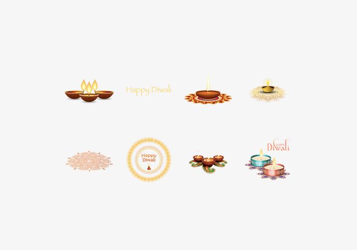 PhotoGrid Stickers Happy Diwali Sticker