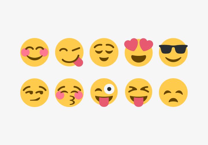 PhotoGrid Stickers Emoji Show