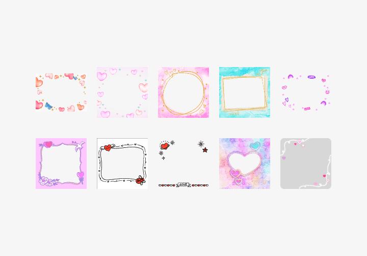 PhotoGrid Stickers Sweet Valentine Sticker