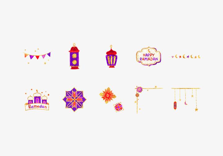 PhotoGrid Stickers Eid al-Fitr Sticker