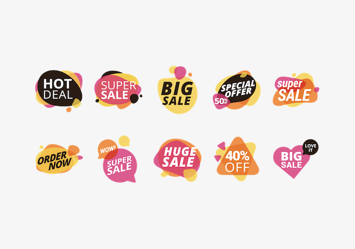 PhotoGrid Stickers Sale 2